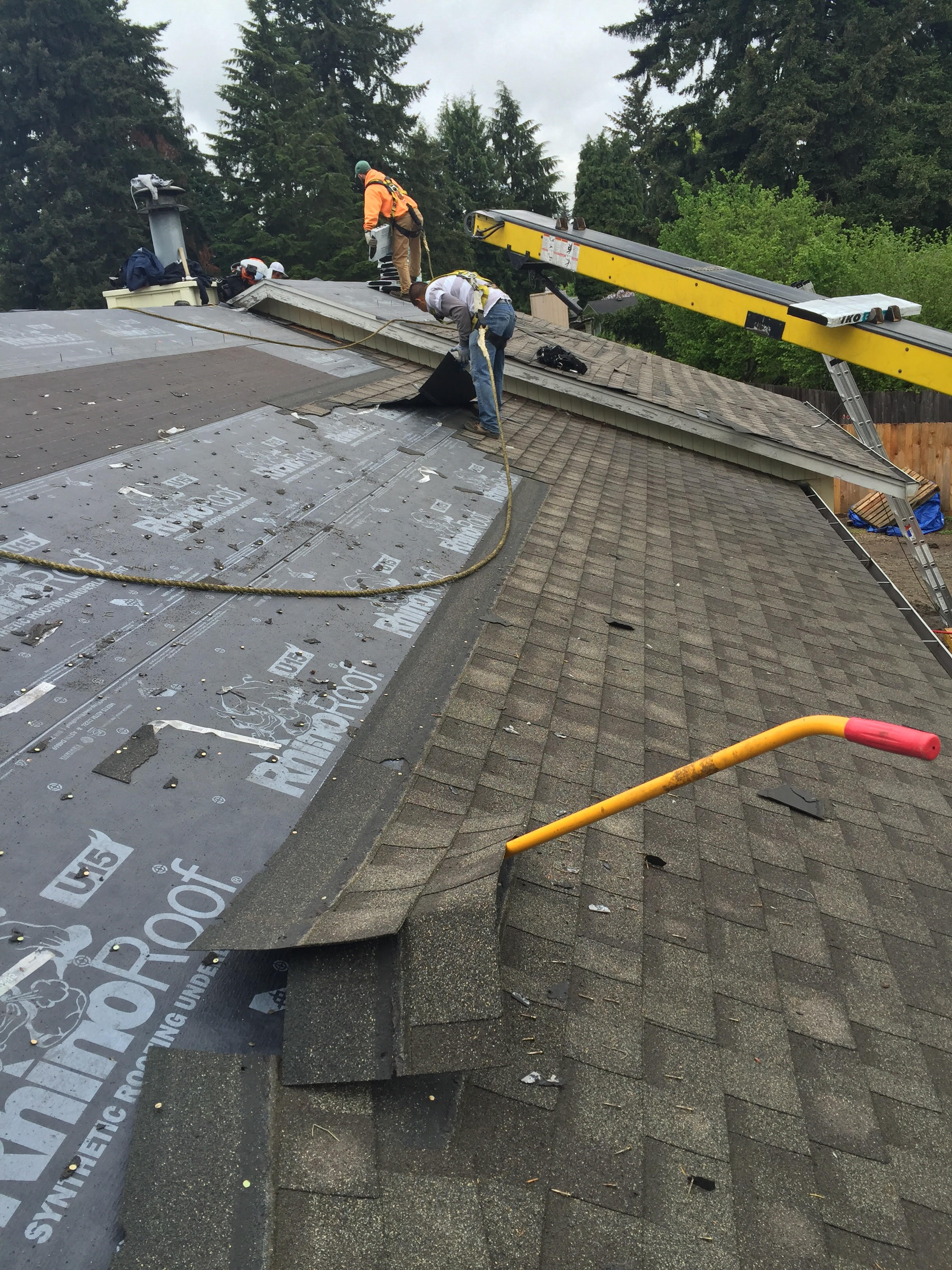 New Roof Installation : New roof installation vancouver wa j and h roofing llc